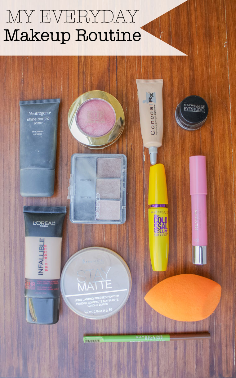 Moo's Musing Everyday Makeup Routine