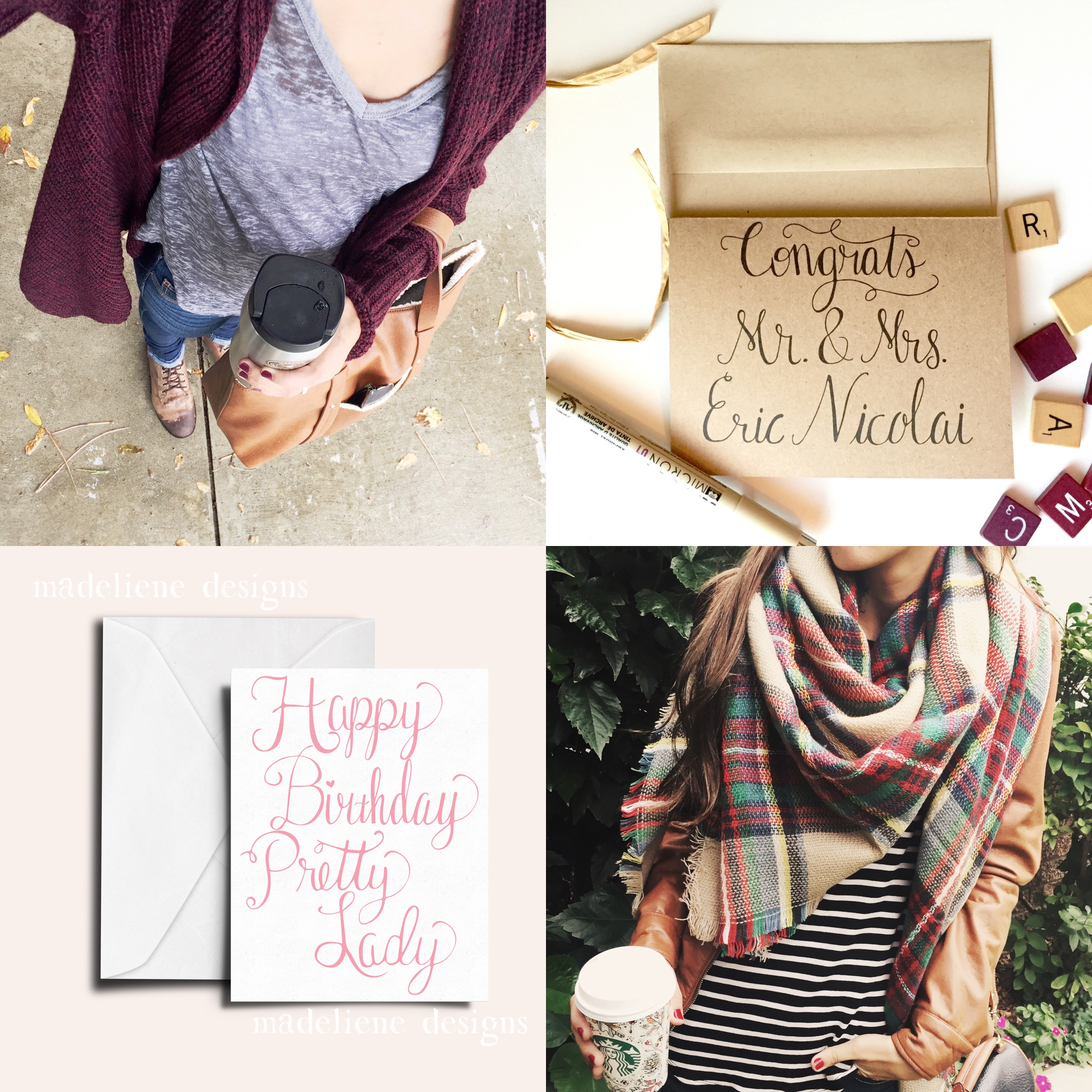 Outfit and Greeting Card Instagram Round Up