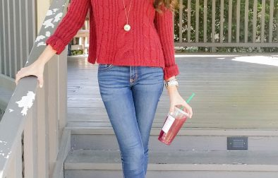 Starbucks Outfit Post