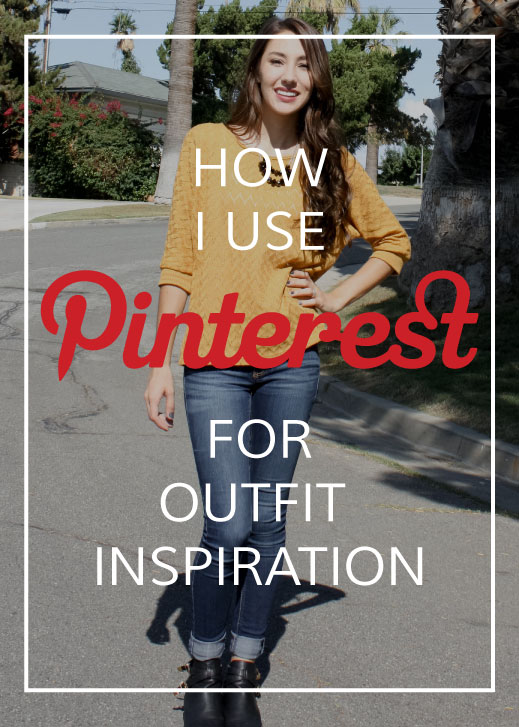 Pinterest for outfit inspiration