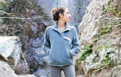 Patagonia Fleece Hike Outfit