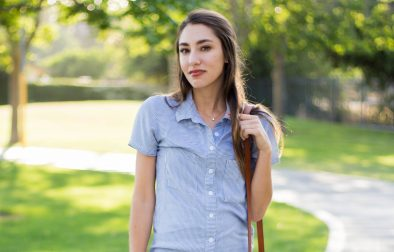 short sleeve button up outfit