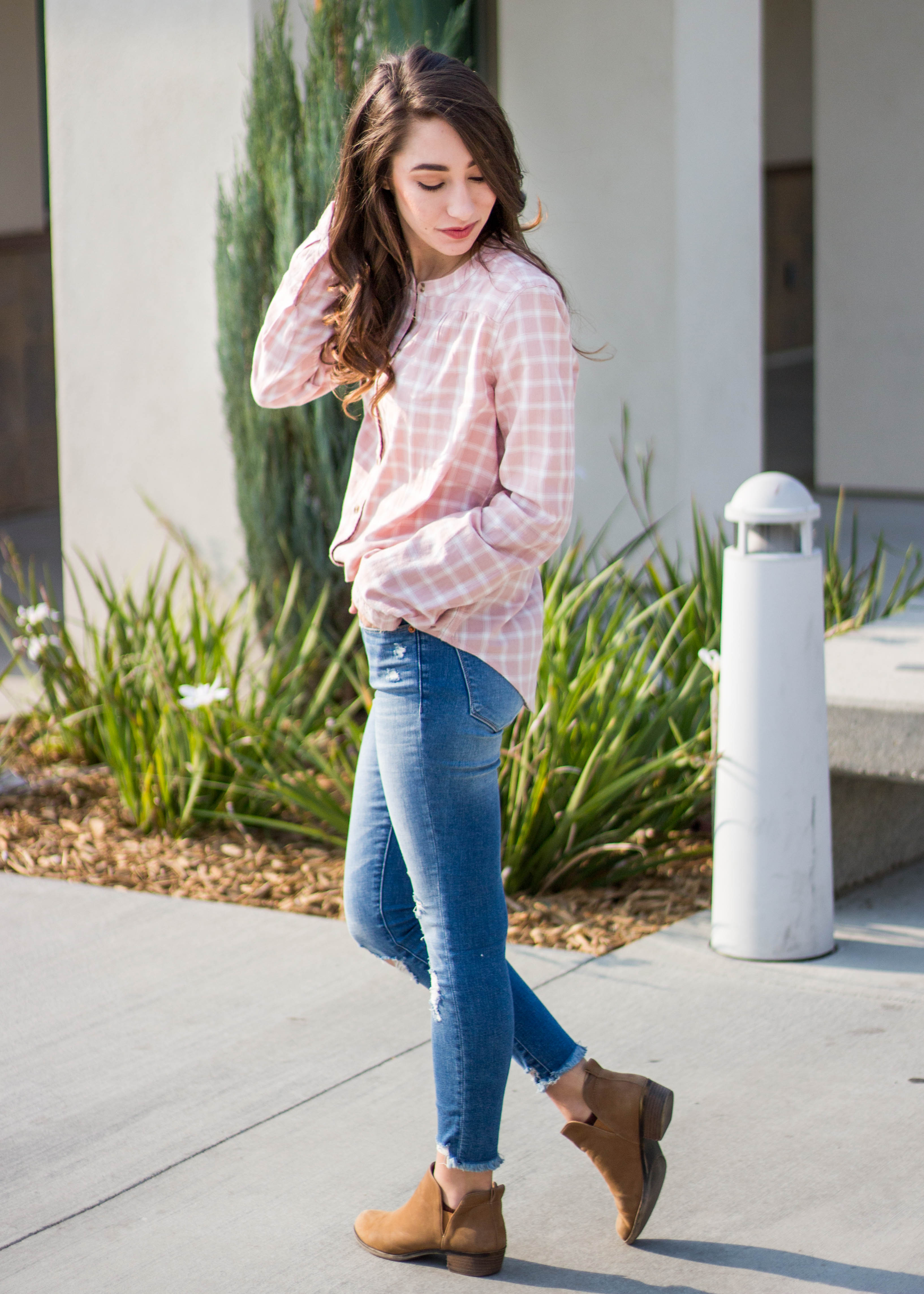 Abercrombie Flannel and Jeans