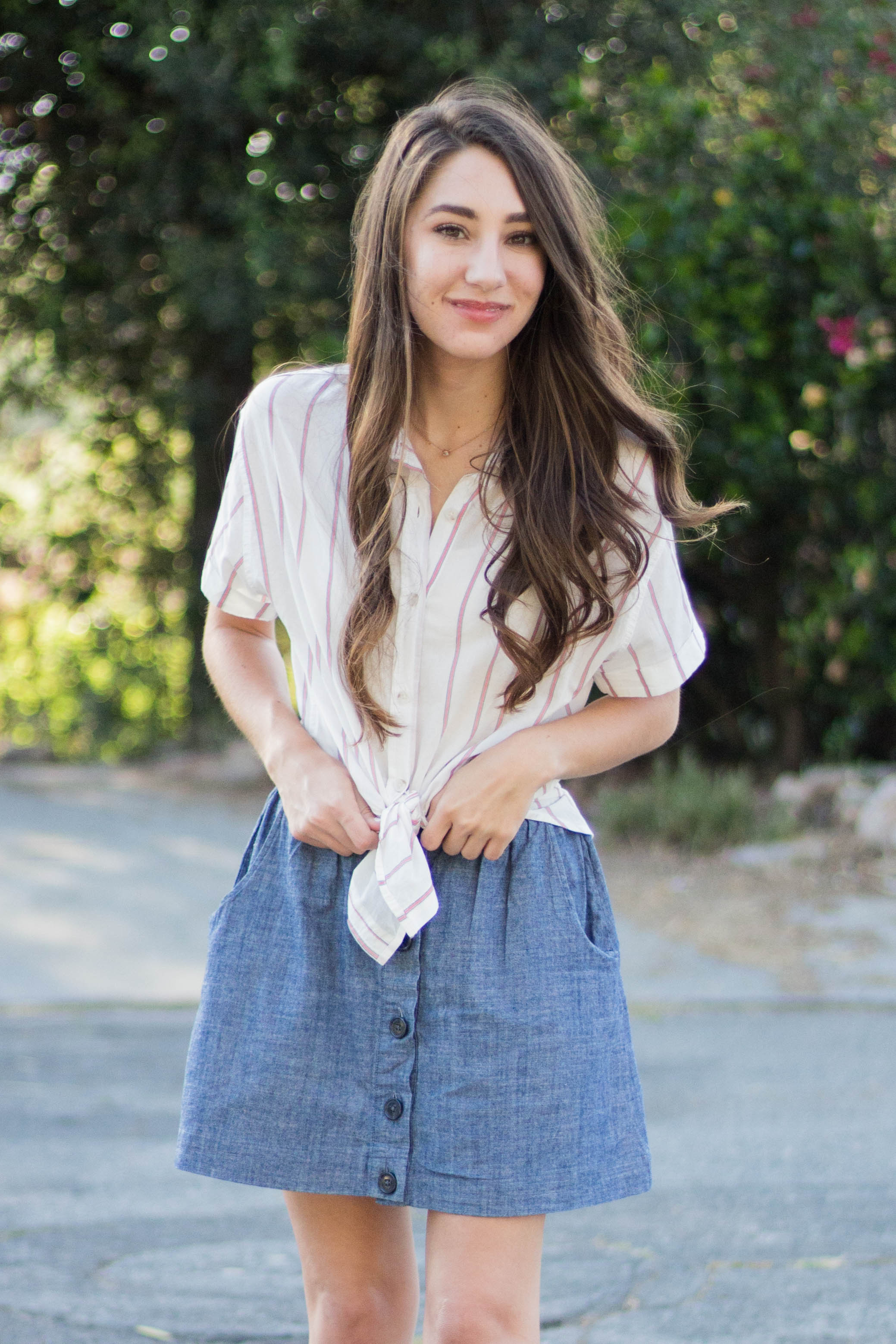 cute girl outfit spring summer