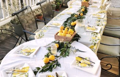 lemon party theme