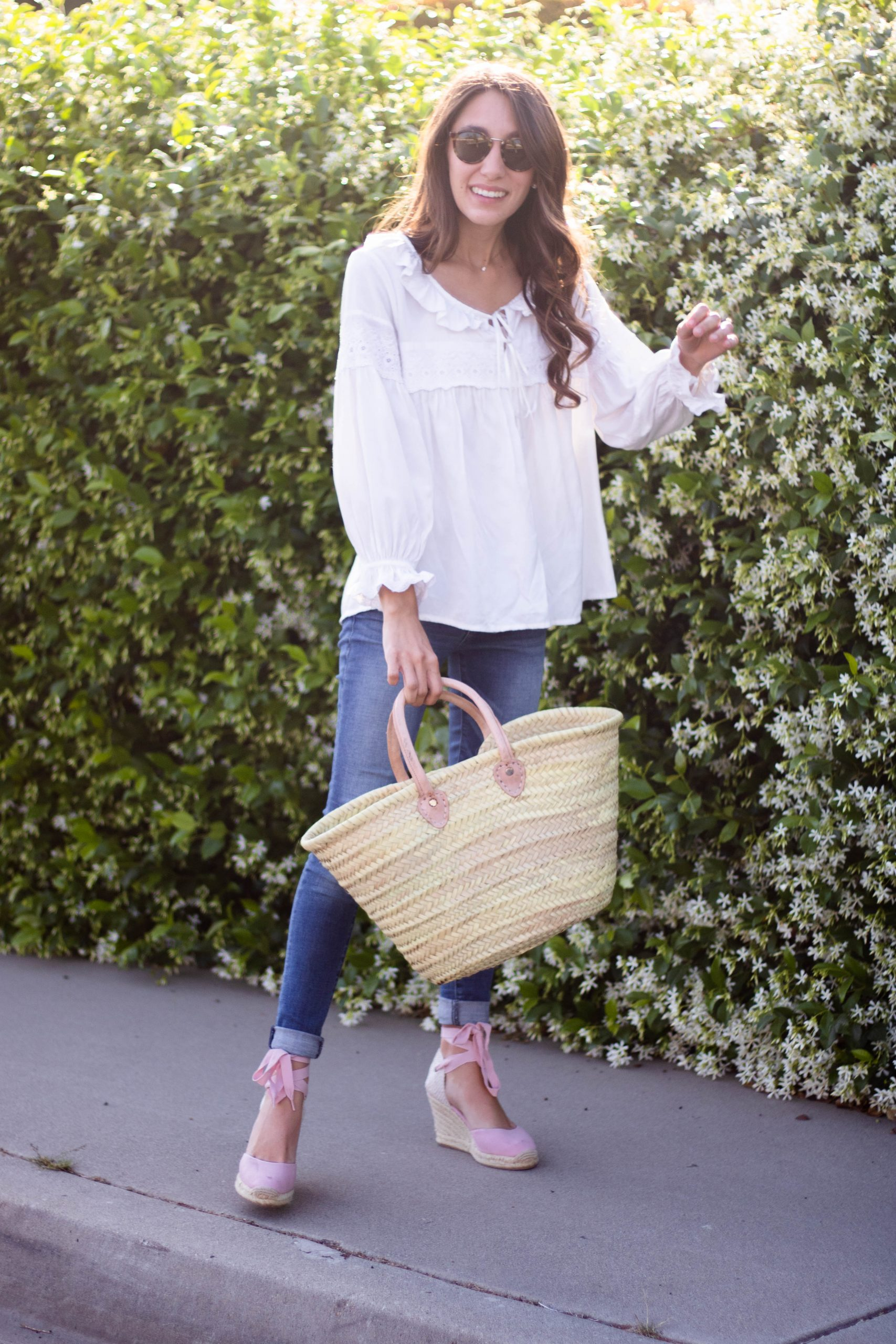 spring espadrille outfit